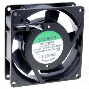 Axial-Lüfter 230VAC bei mükra electronic