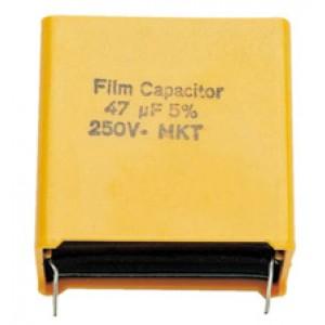 Visaton Folienkondensator MKT 47µF/250VDC radial Folie47/250V