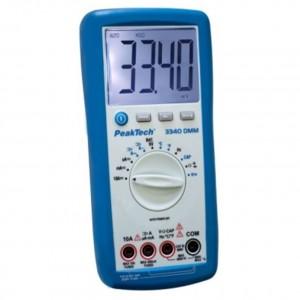 PeakTech® 3340 Digital-Multimeter 3 3/4-stellig CAT III 600V P 3340