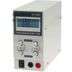 Regelbares Labornetzgerät bei mükra electronic