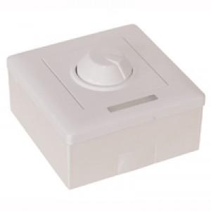 LED-Aufputzdimmer 12-24V 8A Fernbedienung