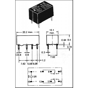 G6AK-234P,5VDC