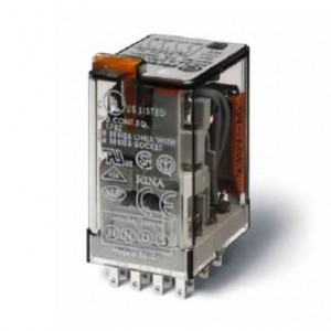 Finder Industrierelais 4-Wechsler 230V 7A 17KΩ