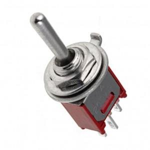 Miniaturkippschalter Ein-Aus-Ein  bei mükra electronic