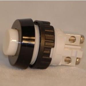 1.10.001.001/0205 RAFI Drucktaster 15,2mm Schraubanschluss 1xEin ws