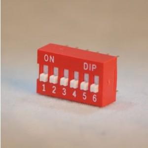 DIP-SCHALTER6POL