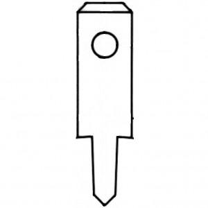 Flachstecker bei mükra electronic