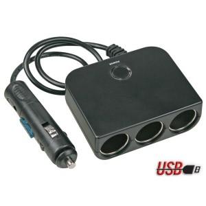 Kfz-Adapter mit USB bei mükra electronic