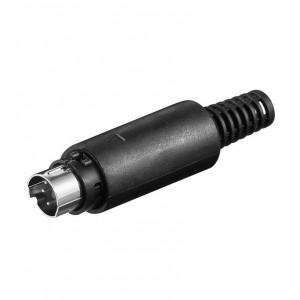Mini-Din-Stecker, 7-polig bei mükra electronic