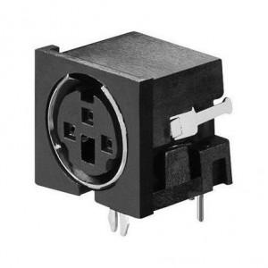 Mini-Din-Buchse 3-polig bei mükra electronic