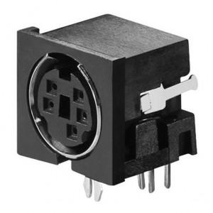 Mini-Din-Buchse 5-polig bei mükra electronic
