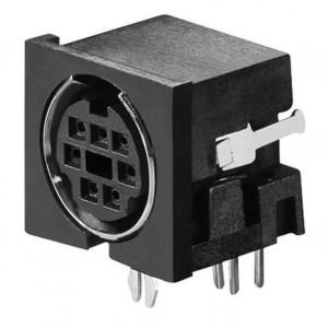 Mini-Din-Buchse 8-polig bei mükra electronic