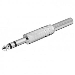 Klinkenstecker - 6,35 mm - stereo bei mükra electronic