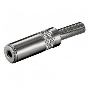 KS 35 MK Klinkenkupplung - 3,5 mm - stereo bei mükra electronic