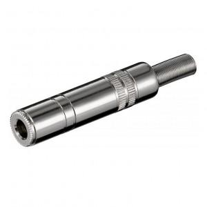 KS 63 MK Klinkenkupplung - 6,35 mm - stereo bei mükra electronic