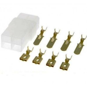 Mehrfachsteckverbinder-Set 4-polig bei mükra electronic