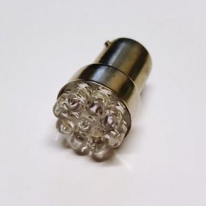 LED-BA15S 9LEDs 12V rot