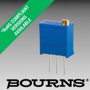 Bourns 3296W Trimmpotentiometer