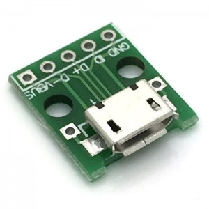 Micro USB 2.0 Breakout Board