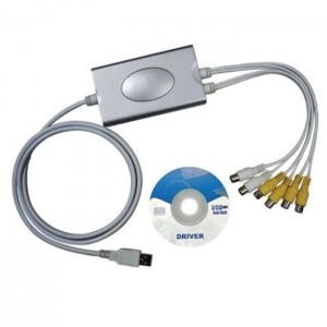 DVR4USB 4-Kanal-Videorecorder mit USB-Anschluss