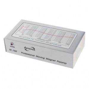 Dynavox TC-750 Phonovorverstärker silber