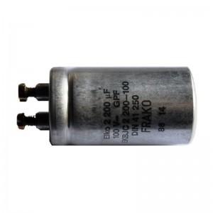 FRAKO Elektrolyt-Kondensator 2200µF 100VDC