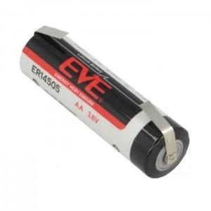 Lithium Batterie Mignon AA 3,6V 2700mAh mit Lötfahnen