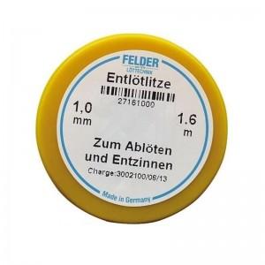 Felder Lotsauglitze 1,0mm