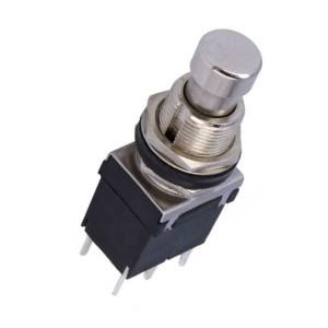 Fusstaster ON-(ON) 1-stellig DPDT 2A/250VAC