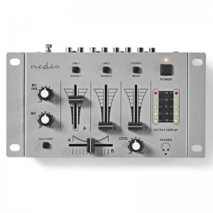 3-Kanal Stereo-Mischpult