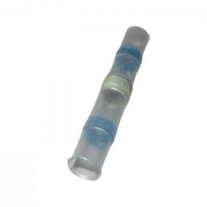 Wärmeschrumpfende Lötverbinder Ø4,5mm blau