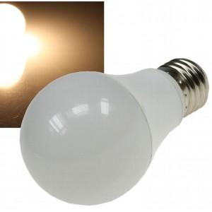 "LED Glühlampe E27 ""G50 AGL"" warmweiß 3000k, 470lm, 230V/7W, 270°"