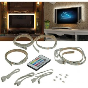 TV-Hintergrundbeleuchtung RGB-Set