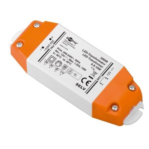 Goobay® LED-Transformator 230VAC 12VDC 0,5-15W