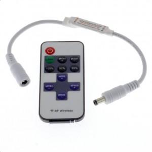 LED-Dimmregler funkgesteuert 5-24V RF433MHz LED-Funkdimmer 6A