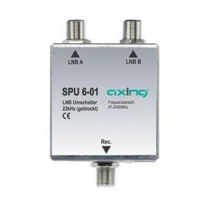 Axing® SPU 6-01 Geblocktes 22 kHz SAT-Koaxialrelais.