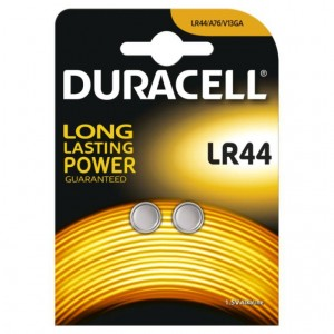 LR44 Duracell Knopfzelle Alkali Mangan 1,5V A76 V13GA