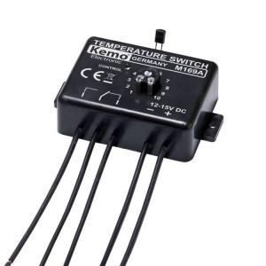 Kemo M169A Temperaturschalter-Thermostat 12 V/DC