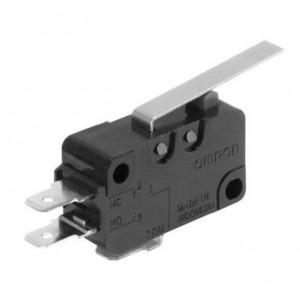 Omron Mikroschalter 16A/250VAC 0,98N 0,6A/125VDC Hebel lang