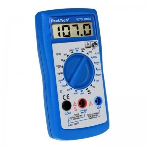 PeakTech®  1070 Digitalmultimeter ~ 2.000 Counts ~ 300V AC/DC ~10A DC ~ TÜV/GS