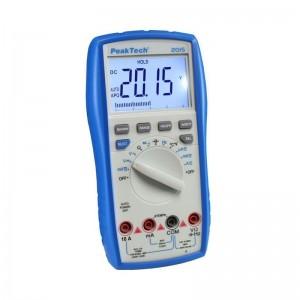 PeakTech® 2015 Digitalmultimeter ~ 4.000 Counts ~ 600V AC/DC ~ 10A AC/DC ~ Auto-Range