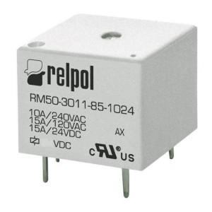 relpol Printrelais Serie-RM50 1xU 10A 3V 25Ω
