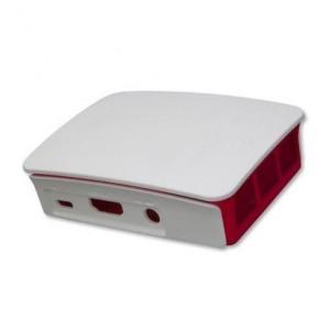 Offizielles Gehäuse für Raspberry Pi3 weiss/rot