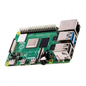 Raspberry Pi 4 B Computerplatine 64-Bit-Quad-Core-CPU 1.5GHz