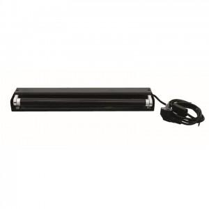 Eurolite UV-Röhre Komplettset 45cm 15W metall schwarz