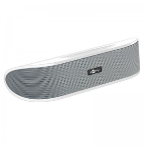 Goobay® Mobiler Lautsprecher Soundbar weiss