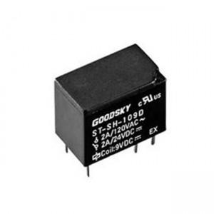 Printrelais 1x Wechsler (SPDT) 2A 5V 167R 12,6x7,8x10mm