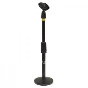 SoundLAB Tischstativ für Mikrofon mit Mikrofonhalter