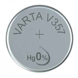 Varta SR44 (V357) Silberoxid-Zink-Knopfzelle, 1,55 V Uhrenbatterie