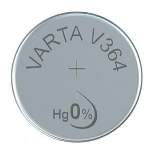 Varta SR60 (V364) Silberoxid-Zink-Knopfzelle, 1,55 V Uhrenbatterie